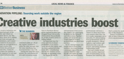 Creative Industries Boost