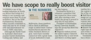 We have scope to boost visitors numbers above 1 in 16