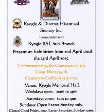 Commemorating the Centenary of the Great War