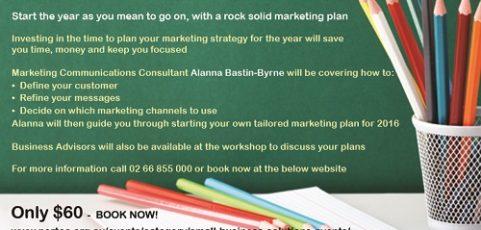 Develop Your Marketing Strategy workshops