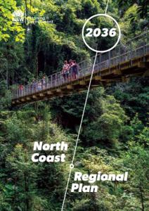North Coast Regional Plan 2036 cover