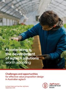 AgFutures report for agtech solutions