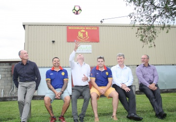 Woodburn Oval funding announcement