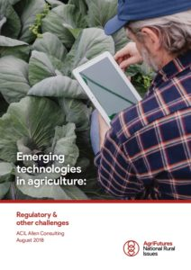 AgriFutures Emerging technology in agriculture report